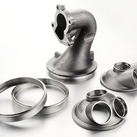 Automobile Casting Components , Exhaust System Inlet Cone Sand Auto Parts Casting